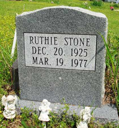 STONE, RUTHIE - Baxter County, Arkansas | RUTHIE STONE - Arkansas Gravestone Photos