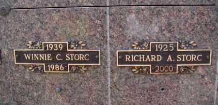 STORC, RICHARD A. - Baxter County, Arkansas | RICHARD A. STORC - Arkansas Gravestone Photos