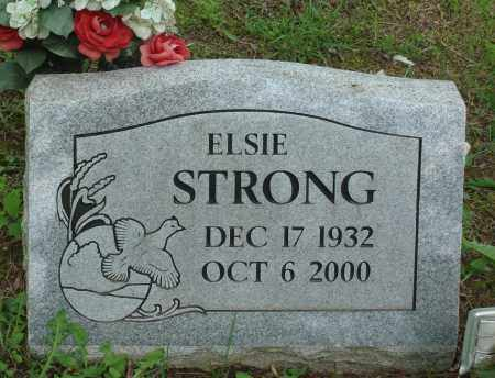 STRONG, ELSIE - Baxter County, Arkansas | ELSIE STRONG - Arkansas Gravestone Photos