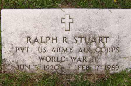 STUART (VETERAN WWII), RALPH  R. - Baxter County, Arkansas | RALPH  R. STUART (VETERAN WWII) - Arkansas Gravestone Photos