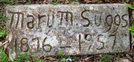 SUGGS, MARY M - Baxter County, Arkansas | MARY M SUGGS - Arkansas Gravestone Photos