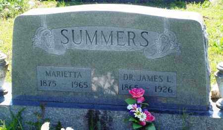 SUMMERS, JAMES L - Baxter County, Arkansas | JAMES L SUMMERS - Arkansas Gravestone Photos