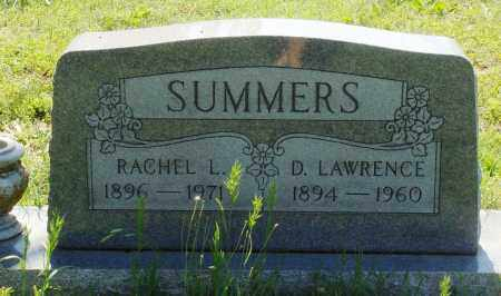 SUMMERS, D. LAWRENCE - Baxter County, Arkansas | D. LAWRENCE SUMMERS - Arkansas Gravestone Photos