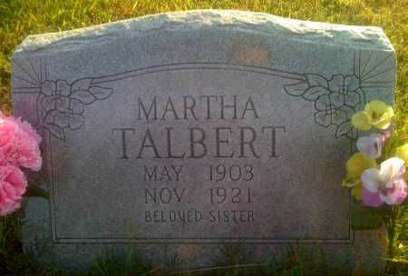 TALBERT, MARTHA - Baxter County, Arkansas | MARTHA TALBERT - Arkansas Gravestone Photos
