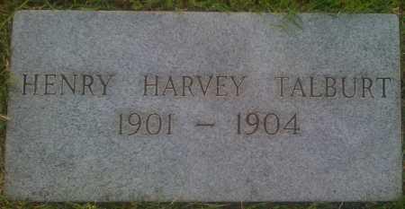 TALBURT, HENRY HARVEY - Baxter County, Arkansas | HENRY HARVEY TALBURT - Arkansas Gravestone Photos