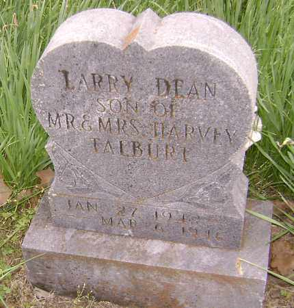 TALBURT, LARRY DEAN - Baxter County, Arkansas | LARRY DEAN TALBURT - Arkansas Gravestone Photos