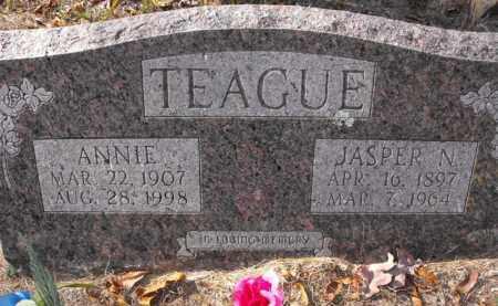TEAGUE, JASPER N. - Baxter County, Arkansas | JASPER N. TEAGUE - Arkansas Gravestone Photos