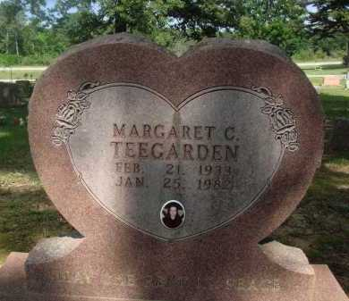 TEEGARDEN, MARGARET C. - Baxter County, Arkansas | MARGARET C. TEEGARDEN - Arkansas Gravestone Photos