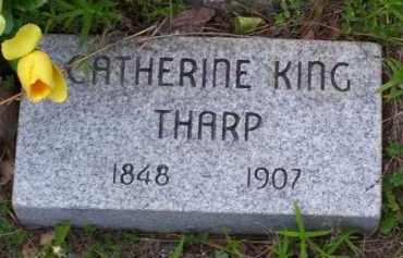 KING THARP, CATHERINE - Baxter County, Arkansas | CATHERINE KING THARP - Arkansas Gravestone Photos