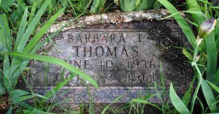 THOMAS, BARBARA J - Baxter County, Arkansas | BARBARA J THOMAS - Arkansas Gravestone Photos
