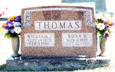 THOMAS, WILLIAM J. - Baxter County, Arkansas | WILLIAM J. THOMAS - Arkansas Gravestone Photos