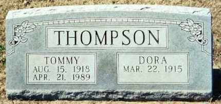 "THOMPSON (VETERAN WWII) (FAMOU, LURTIS PRYOR ""TOMMY"" - Baxter County, Arkansas 