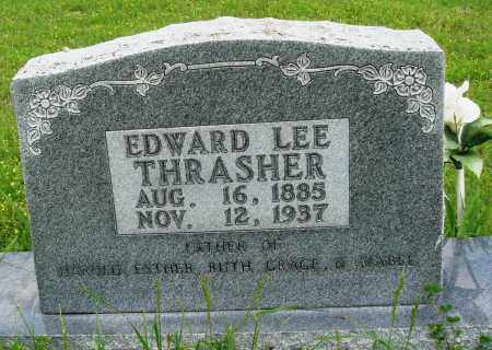 THRASHER, EDWARD LEE - Baxter County, Arkansas | EDWARD LEE THRASHER - Arkansas Gravestone Photos