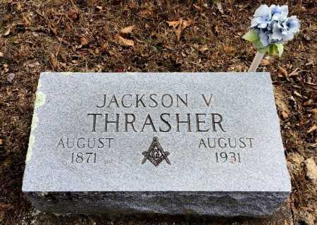THRASHER, JACKSON V - Baxter County, Arkansas | JACKSON V THRASHER - Arkansas Gravestone Photos