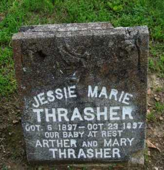 THRASHER, JESSIE MARIE - Baxter County, Arkansas | JESSIE MARIE THRASHER - Arkansas Gravestone Photos