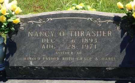 THRASHER, NANCY O. - Baxter County, Arkansas   NANCY O. THRASHER - Arkansas Gravestone Photos