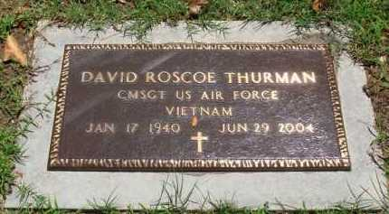 THURMAN  (VETERAN VIET), DAVID ROSCOE - Baxter County, Arkansas | DAVID ROSCOE THURMAN  (VETERAN VIET) - Arkansas Gravestone Photos