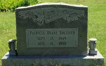 TOLLIVER, PATRICIA DIANE - Baxter County, Arkansas | PATRICIA DIANE TOLLIVER - Arkansas Gravestone Photos
