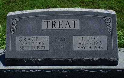 TREAT, GRACE H. - Baxter County, Arkansas | GRACE H. TREAT - Arkansas Gravestone Photos