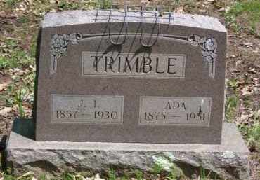 MILNER TRIMBLE, ADA - Baxter County, Arkansas | ADA MILNER TRIMBLE - Arkansas Gravestone Photos