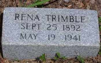 TRIMBLE, RENA - Baxter County, Arkansas | RENA TRIMBLE - Arkansas Gravestone Photos