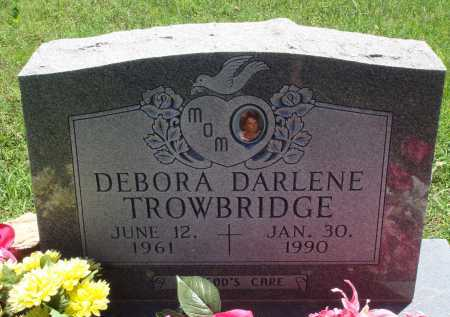 TROWBRIDGE, DEBORA DARLENE - Baxter County, Arkansas | DEBORA DARLENE TROWBRIDGE - Arkansas Gravestone Photos