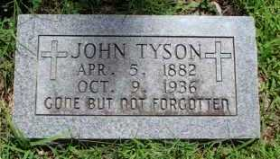 TYSON, JOHN - Baxter County, Arkansas | JOHN TYSON - Arkansas Gravestone Photos
