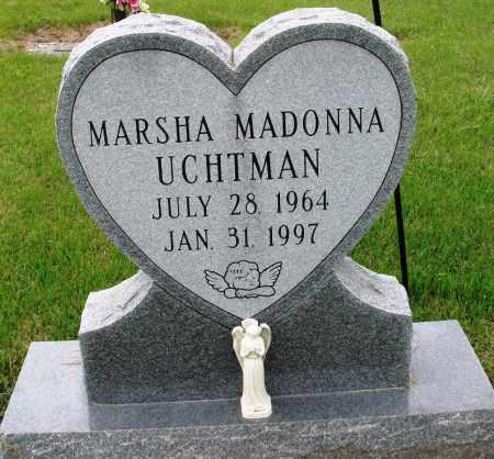 UCHTMAN, MARSHA MADONNA - Baxter County, Arkansas | MARSHA MADONNA UCHTMAN - Arkansas Gravestone Photos