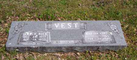 ASKEW VEST, MARTHA - Baxter County, Arkansas | MARTHA ASKEW VEST - Arkansas Gravestone Photos