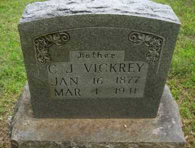 VICKREY, C. J. - Baxter County, Arkansas | C. J. VICKREY - Arkansas Gravestone Photos
