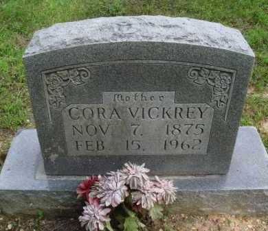 VICKREY, CORA - Baxter County, Arkansas | CORA VICKREY - Arkansas Gravestone Photos