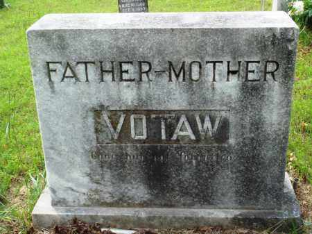 VOTAW, FATHER-MOTHER - Baxter County, Arkansas | FATHER-MOTHER VOTAW - Arkansas Gravestone Photos