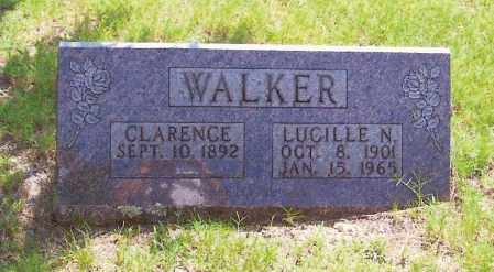 GREENWOOD WALKER, LUCILLE NOLANDE (OBIT) - Baxter County, Arkansas | LUCILLE NOLANDE (OBIT) GREENWOOD WALKER - Arkansas Gravestone Photos