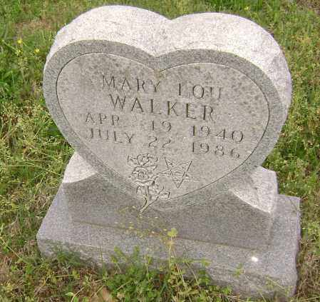 WALKER, MARY LOU - Baxter County, Arkansas | MARY LOU WALKER - Arkansas Gravestone Photos