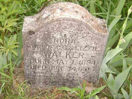 WALKER, NORA - Baxter County, Arkansas | NORA WALKER - Arkansas Gravestone Photos