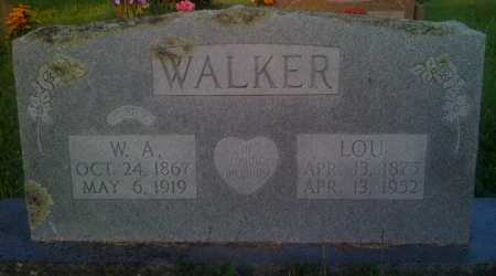 WALKER, LOU - Baxter County, Arkansas | LOU WALKER - Arkansas Gravestone Photos
