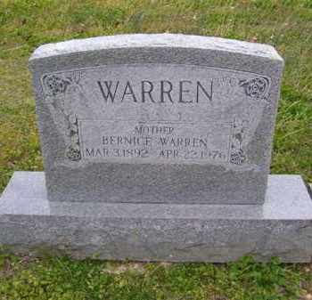 HOGAN WARREN, BERNICE - Baxter County, Arkansas | BERNICE HOGAN WARREN - Arkansas Gravestone Photos