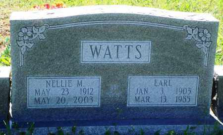 WATTS, NELLIE M - Baxter County, Arkansas | NELLIE M WATTS - Arkansas Gravestone Photos