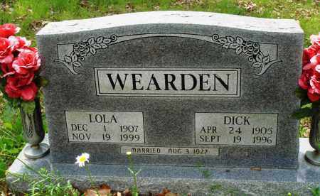 WEARDEN, LOLA - Baxter County, Arkansas | LOLA WEARDEN - Arkansas Gravestone Photos