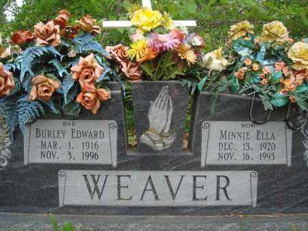 WEAVER, MINNIE ELLA - Baxter County, Arkansas | MINNIE ELLA WEAVER - Arkansas Gravestone Photos