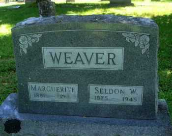 WEAVER, SELDON W. - Baxter County, Arkansas | SELDON W. WEAVER - Arkansas Gravestone Photos