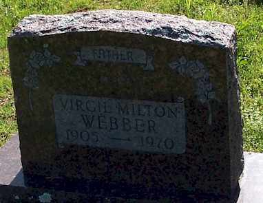 WEBBER, VIRGIL MILTON - Baxter County, Arkansas | VIRGIL MILTON WEBBER - Arkansas Gravestone Photos