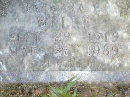 WELLS, BARBARA - Baxter County, Arkansas | BARBARA WELLS - Arkansas Gravestone Photos