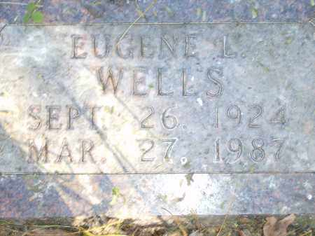 WELLS, EUGENE L. - Baxter County, Arkansas | EUGENE L. WELLS - Arkansas Gravestone Photos