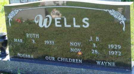 WELLS, J B - Baxter County, Arkansas | J B WELLS - Arkansas Gravestone Photos