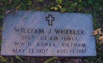 WHEELER  (VETERAN 3 WARS), WILLIAM J - Baxter County, Arkansas | WILLIAM J WHEELER  (VETERAN 3 WARS) - Arkansas Gravestone Photos