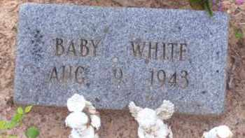 WHITE, BABY - Baxter County, Arkansas | BABY WHITE - Arkansas Gravestone Photos