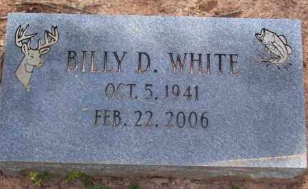 WHITE, BILLY D. - Baxter County, Arkansas | BILLY D. WHITE - Arkansas Gravestone Photos