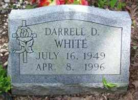 WHITE, DARRELL D. - Baxter County, Arkansas | DARRELL D. WHITE - Arkansas Gravestone Photos