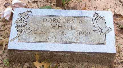 WHITE, DOROTHY A. - Baxter County, Arkansas | DOROTHY A. WHITE - Arkansas Gravestone Photos